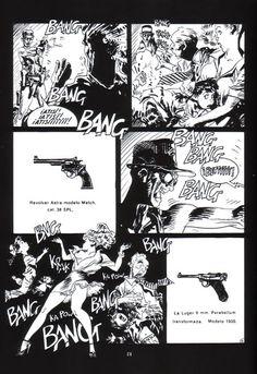 Historias negras, Jordi Bernet, Enrique Sánchez Abulí, comic