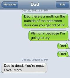 Awesome text from dad - www.meme-lol.com