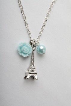 Eiffel necklace - Paris necklace
