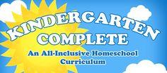 Win a kindergarten complete homeschool curriculum.