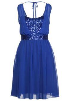Summer dress - royal