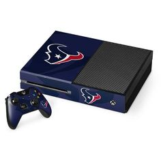 Protect & personalize your Xbox One Console and Controller Bundle with the Houston Texans Double Vision Xbox One Console and Controller Bundle Skin by Skinit. Buy the NFL Houston Texans Double Vision Xbox One Console and Controller Bundle Skin online now. Xbox One Bundle, Nfl Houston Texans, Xbox One Skin, Double Vision, Xbox One Console, Level Up, Vinyl Decals, Buttons, Game