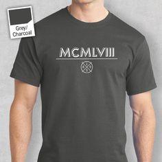 Mens 60th Birthday T Shirt Gift