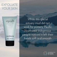 mud musk from Nu skin new younger softer skin Exfoliate Face Products, Skin Products, Beauty Products, Epoch Mud Mask, Marine Mud Mask, Glacial Marine Mud, Cold Sore, Diy Skin Care, Dead Skin