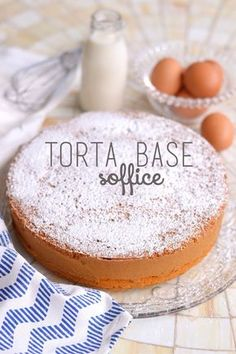 Sprinkles Dress: Ricette base - Torta base soffice (con poche uova e poco olio) Torte Cake, Cake & Co, Biscotti, Bakery Cakes, Something Sweet, Italian Recipes, Sweet Recipes, Delicious Desserts, Breakfast Recipes