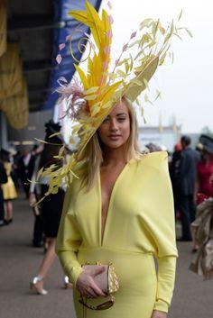 Royal Ascot 2013 - Ladies Day at Royal Ascot Races Race Day Outfits, Derby Outfits, Ascot Outfits, Kentucky Derby Outfit, Kentucky Derby Fashion, Pink Fashion, Fashion Outfits, Royal Ascot Races, Hats For Women