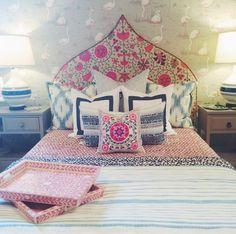 Pink Suzani Pillow | Furbish Studio