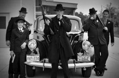 1920's Gangster Wedding