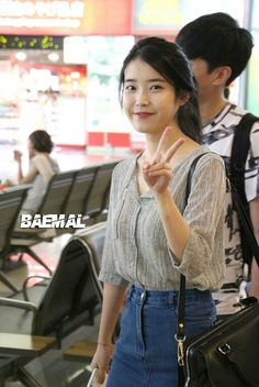 IU @airport