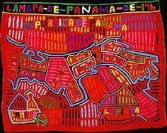 Woman Selling Molas - Panama | Mucha Mola | Pinterest | My heart ...