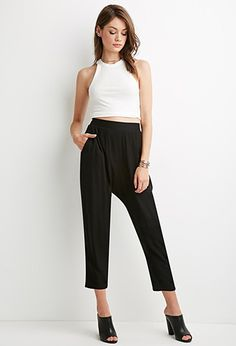 Pleated Harem Pants | Forever 21 - 2000140988