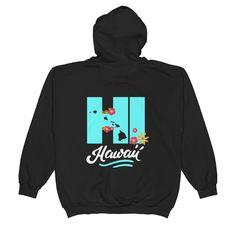 Zip Hoodie See Ya In Maui Hawaiian Islands HI