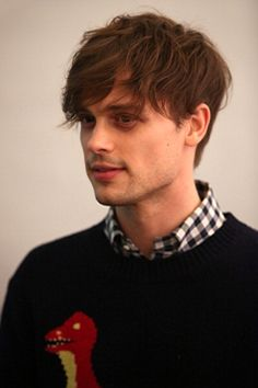 Matthew Gray Gubler - Why is there only one of him? So unfair.