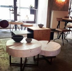 Coffee Tables, Showroom, Steel, Wood, Design, Instagram, Madeira, Woodwind Instrument, Wood Planks