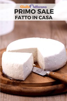 Ricotta, Cooking Cheese, Cooking Tips, Cooking Recipes, Homemade Cheese, Almond Cakes, How To Make Cheese, Pinterest Recipes, Kefir
