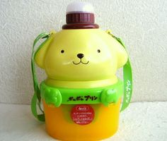 Puppy bento and water bottle all in one