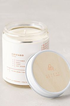 roam candles - different scents for different cities