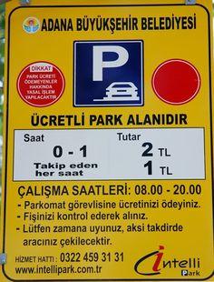 Adana Büyükşehir Bld. Ücretli Park Alanları | Adana Yaşam Rehberi
