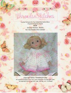 Ann Estelle Crochet Pattern 138 von ThreadsnStitchesUSA auf Etsy