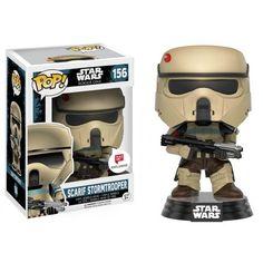 Funko Scarif Stormtrooper Squad Leader, Walgreens Exclusive, Rogue One, Star Wars, Guerra nas Estrelas, Funkomania, Filme
