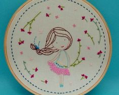 Order contact my WhatsApp number 7874133176 Hand Embroidery Patterns Free, Hand Embroidery Projects, Embroidery Hoop Crafts, Basic Embroidery Stitches, Hand Embroidery Videos, Hand Embroidery Flowers, Creative Embroidery, Embroidery Hoop Art, Cross Stitch Embroidery