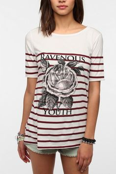 Truly Madly Deeply Ravenous Youth Tee #urbanoutfitters