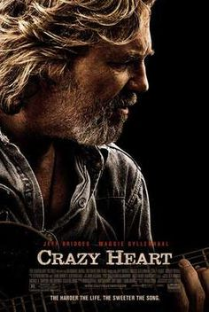 Crazy Heart (2009) | Starring  Jeff Bridges, Maggie Gyllenhaal, Colin Farrell | A faded country music musician is forced to reassess his dysfunctional life during a doomed romance that also inspires him.