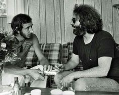 Pete and Jerry Garcia