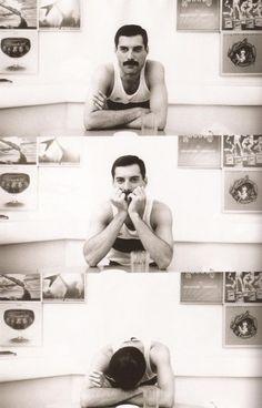 El más grande front man que el mundo del rock haya conocido:Freddie