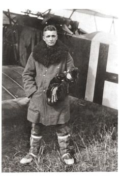 WW1 German Fighter Ace Oscar Hennrich, 20 Kills, Jasta 46