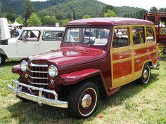 Willys 2 door Willys Woody Jeep Adrenaline Capsules