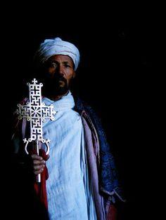 Lalibela, Ethiopia Orthodox Priest