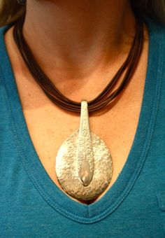 Spoon necklace...locally made. Sweet Olive