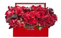 Red flower arrangement by Floralart.
