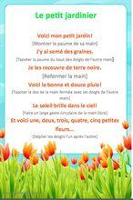 6 comptines printemps maternelle