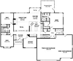 Private Study and Bonus Room - 19531JF | Traditional, 1st Floor Master Suite, Bonus Room, Den-Office-Library-Study, PDF, Split Bedrooms | Architectural Designs