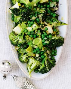 Give your green vegetables a french twist and serve them with a garlic, lemon and tarragon dressing.