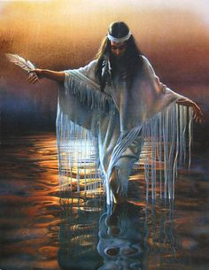 Native American women in water love the outfit Native American Paintings, Native American Pictures, Native American Beauty, Indian Pictures, American Indian Art, American Indians, American History, Indian Pics, Red Indian
