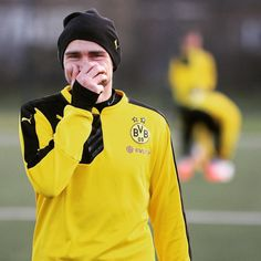 Marcel Schmelzer während des BVB-Trainings des Mittwoch. @ Trainingsgelände BVB