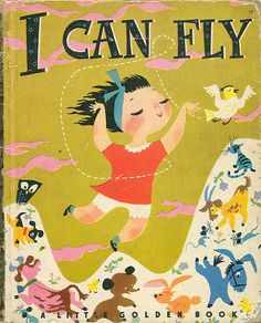 I Can Fly - I love the sweet illustrations in this one.