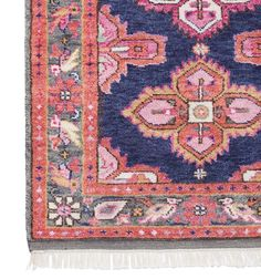 **International orders, please email info@caitlinwilson.com if you would like to order. A stunning antique-inspired Persian rug created in all our favorite hues. It is as luxurious underfoot as it is