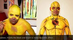 Bodypainting Reverse Flash / Zoom