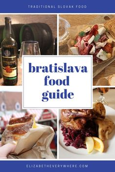 Bratislava Food Guide – Traditional Slovak Food + More – What is Slovak food? Le… Bratislava Food Guide – Traditional Slovak Food + More – What is Slovak food? Learn all about it, and the up-and-coming Bratislava food scene in… Continue reading → A Food, Good Food, Food And Drink, Vienna Christmas, Bratislava Slovakia, Foodie Travel, Street Food, Traveling By Yourself, Cooking