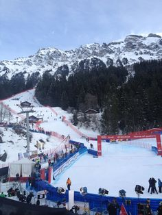 Finish at the Lauberhorn WorldCup