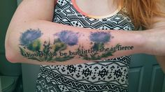 though she be but little she is fierce tattoo - Google Search
