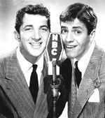 Dean Martin and Jerry Lewis  The Colgate Comedy Hour  9/10/1950 - 12/25/1955 NBC  Black and White/Color  60 minutes  Sept 1950 - Dec. 1955 Sun. 8:00 - 9:00  11/22/1953 - First show to ever be telecast in color, as part of an test of RCA's new color system