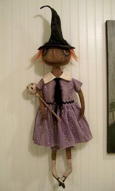 Primitive Folk Art Dolls by Brenda Jett Sanker © Visit my blog: http://www.brendajettsanker.blogspot.com/