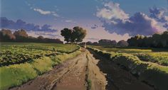 my neighbor totoro Studio Ghibli Background, Animation Background, Landscape Illustration, Landscape Art, Studio Ghibli Art, Ghibli Movies, Guache, My Neighbor Totoro, Environment Concept Art