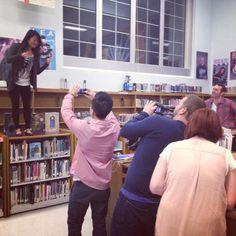 #ASingleGirlsChristmas #Library #HighSchool #Filmmaking #BehindTheScenes #Christmas #Cameras #Film #SingleGirlsShow