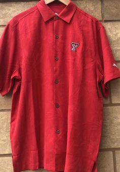 Tommy Bahama Texas Tech Red Raiders Mens Red Al Fresco Short Sleeve Dress Shirt - 16570065 Raiders T Shirt, Tech T Shirts, Texas Tech Red Raiders, Short Sleeve Dresses, Dresses With Sleeves, Tommy Bahama, Fresco, Dress Shirt, Chef Jackets